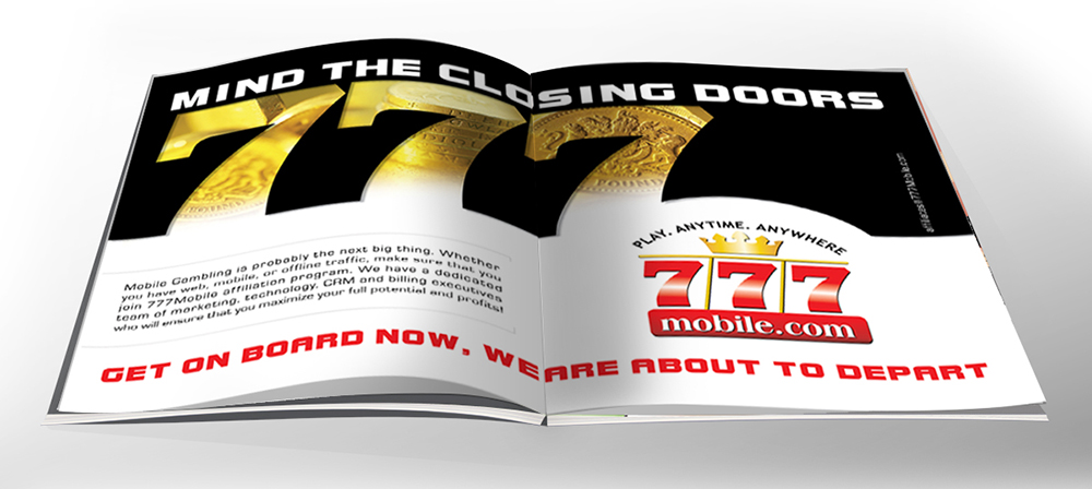777-MOBILE CASINO - Telemedia UK ad